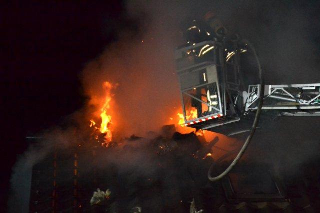 Brandeinsatz vom 25.07.2014  |  (C) Feuerwehr Muehlhausen (2014)