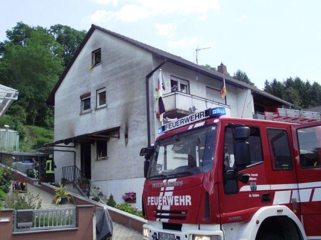 Brandeinsatz vom 10.07.2012  |  (C) Feuerwehr Muehlhausen (2012)