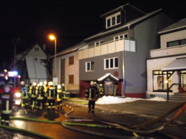 Brandeinsatz vom 18.01.2013  |  (C) Feuerwehr Muehlhausen (2013)