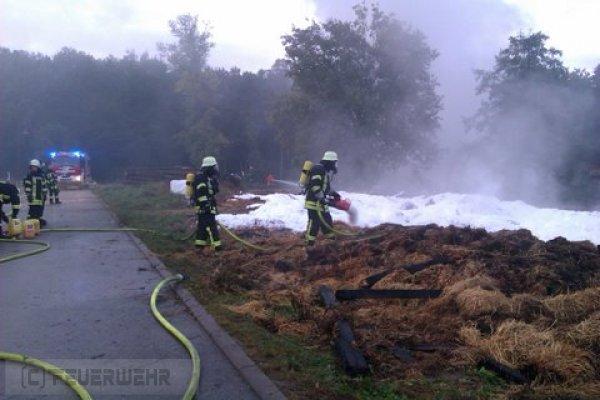 Brandeinsatz vom 09.10.2011  |  (C) Feuerwehr Muehlhausen (2011)
