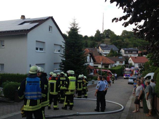 Brandeinsatz vom 10.07.2013  |  (C) Feuerwehr Muehlhausen (2013)