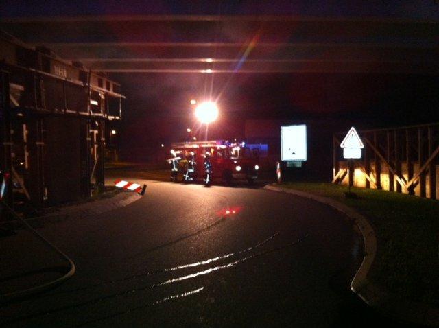 Brandeinsatz vom 21.07.2012  |  (C) Feuerwehr Muehlhausen (2012)